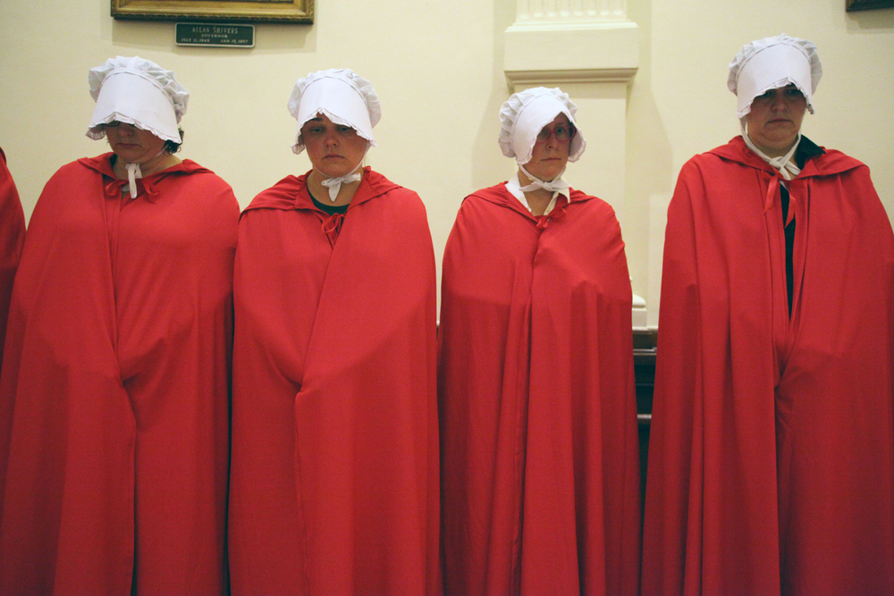 Scene from TV series The Handmaid's Tale