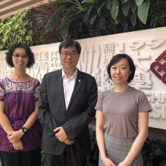 Dr Judy Y.M. Siu, Professor David Shum, Dr Yuan Cao