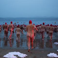 Dark Mofo Nude Solstice Swim - 2016