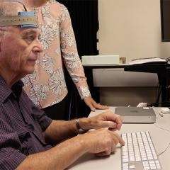 Cognitive training and brain stimulation study