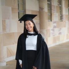 UQ-Universitas Indonesia valedictorian, Yasmin Larasati