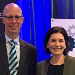 Professor Blake McKimmie and Professor Barbara Masser